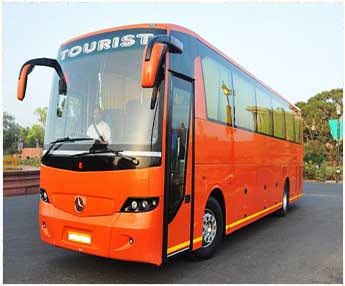luxuri bus haridwar to agara